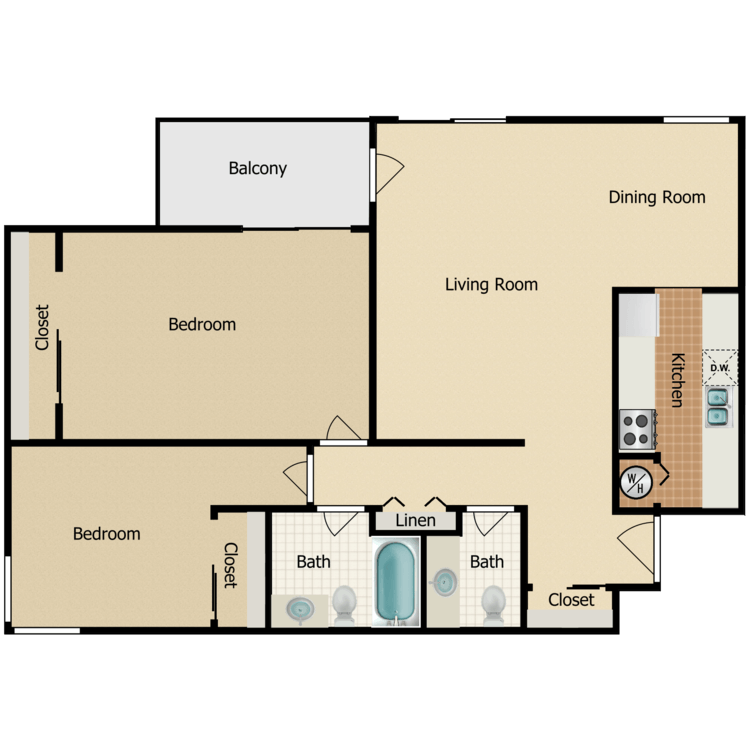 Floor plan image of Villager
