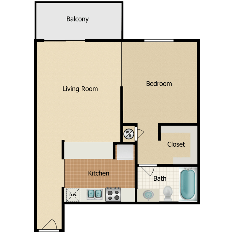Floor plan image of Barony