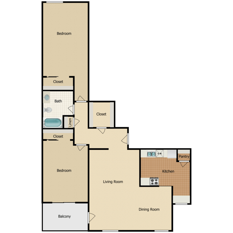 Floor plan image of Gentry