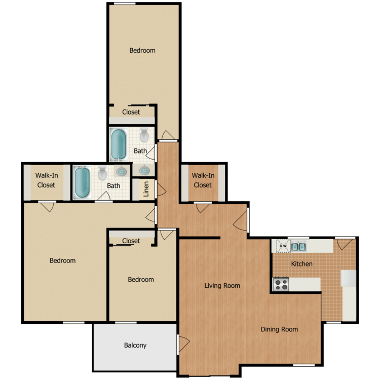 Floor plan image of Manor