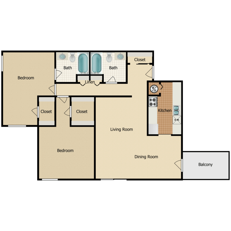 Floor plan image of Park Ave