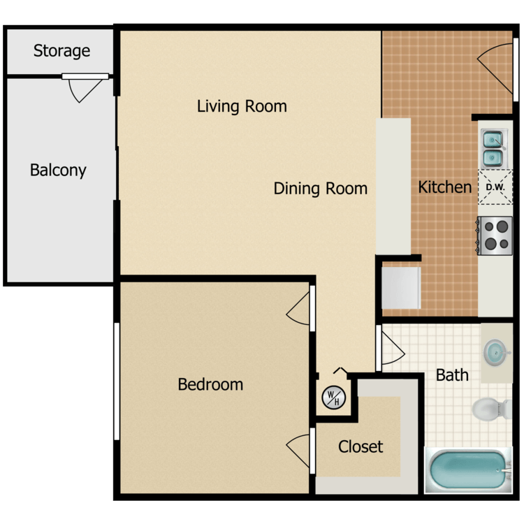 Floor plan image of Regency