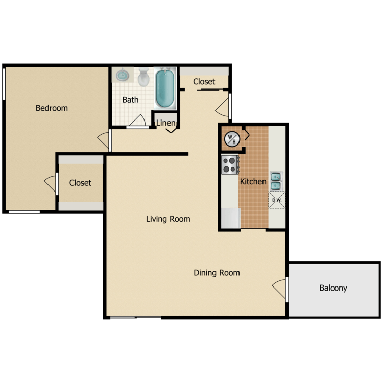 Floor plan image of Squire