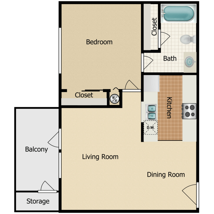 Floor plan image of Villa