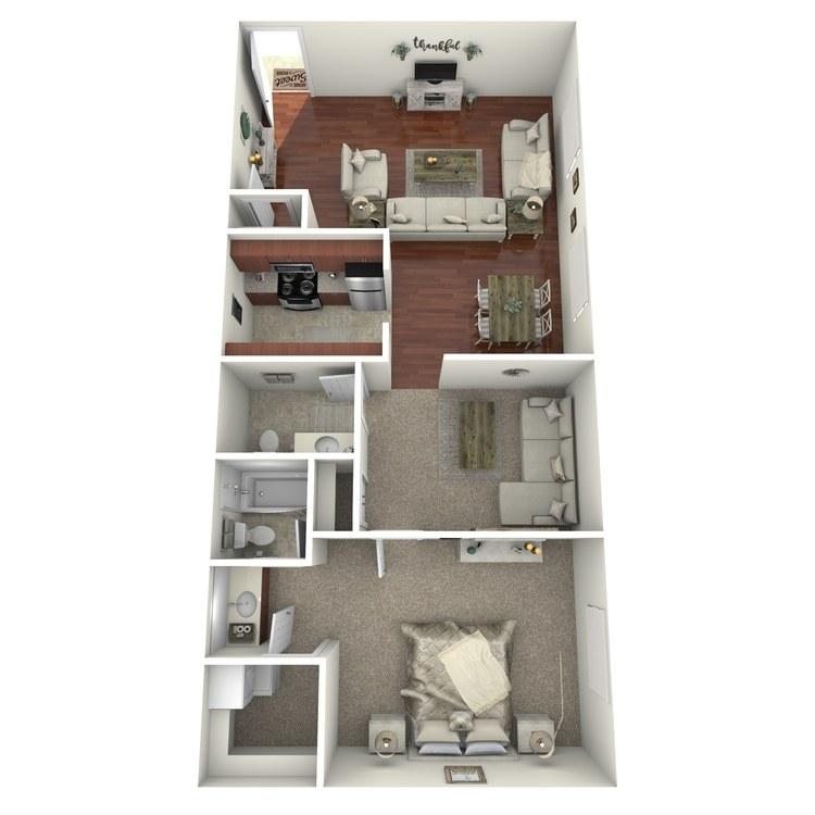 Floor plan image of The Birmingham