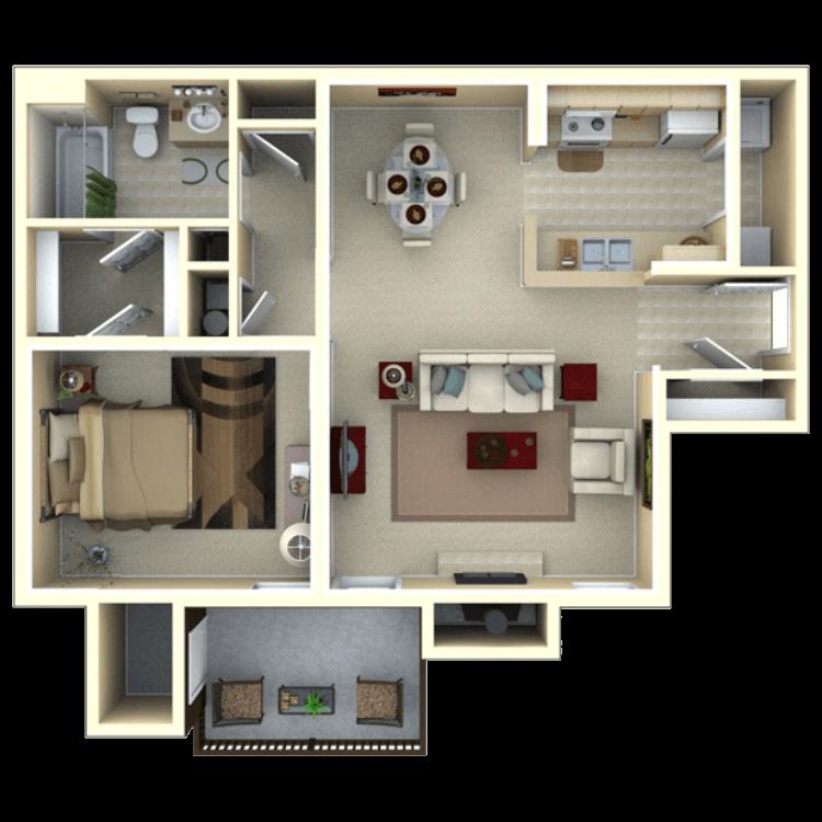 Floor plan image of Tupelo