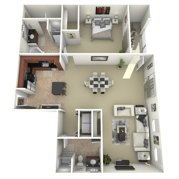 Floor plan image of 1x2F