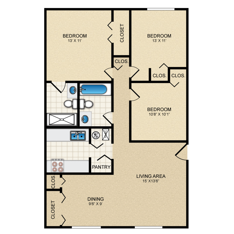 Floor plan image of Majestic