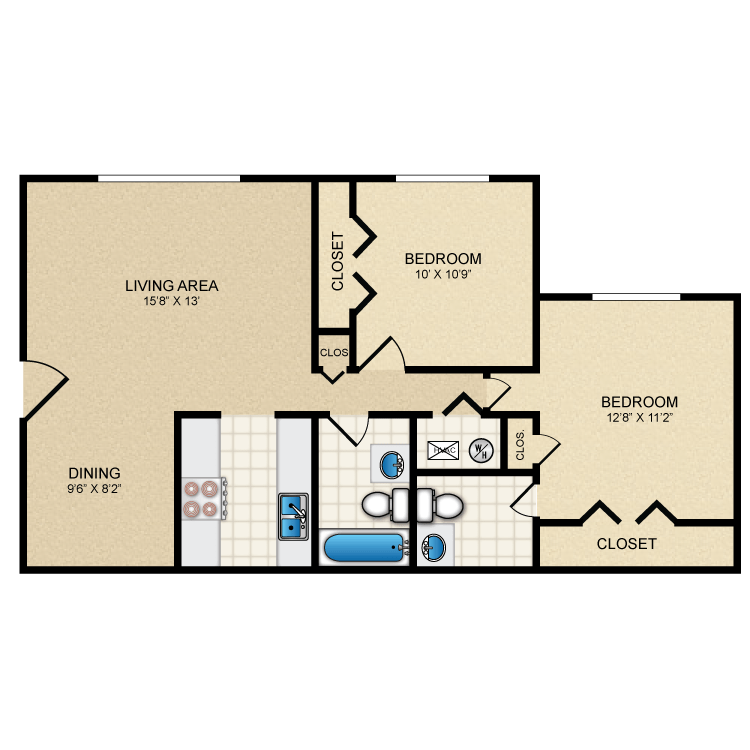 Floor plan image of Sierra