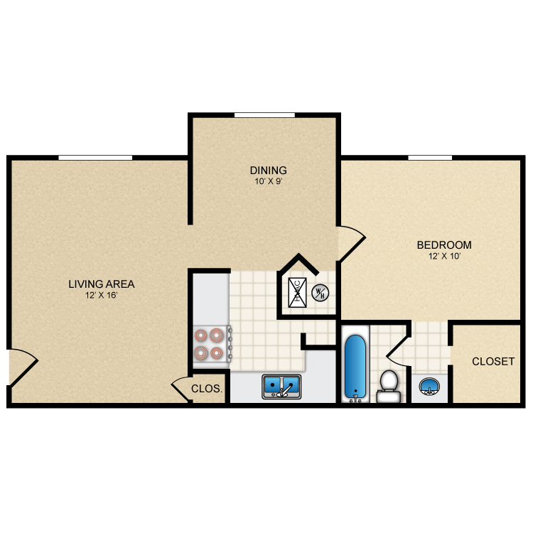 Floor plan image of Tucson