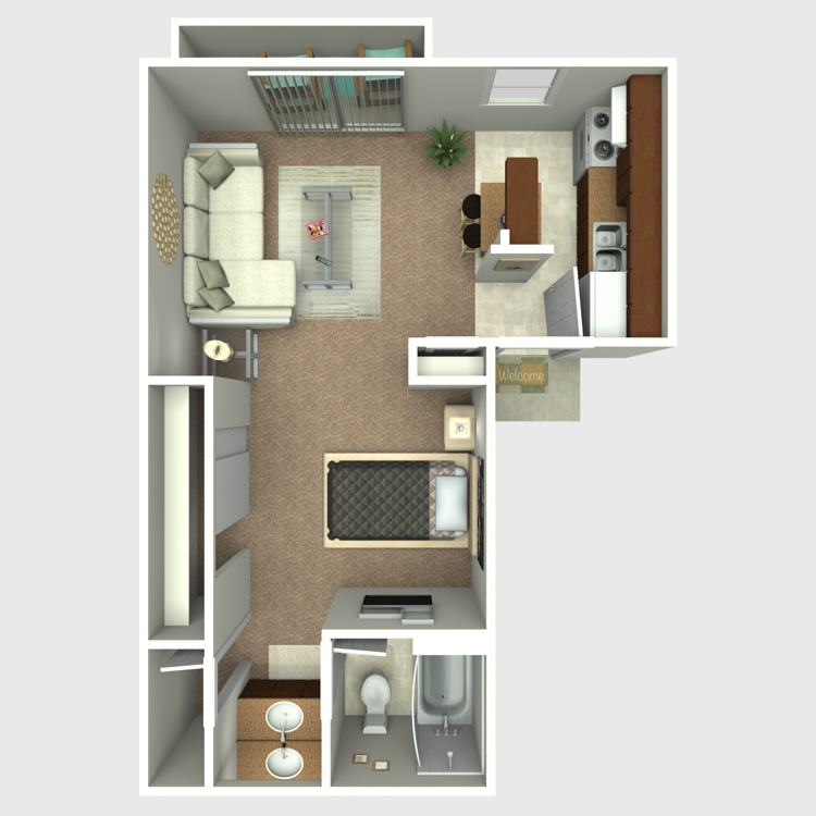 E4 floor plan image