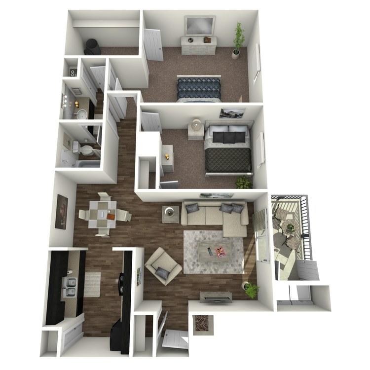 Floor plan image of Hawthorn