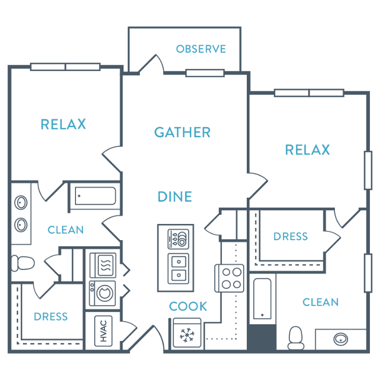 Floor plan image of Coquina