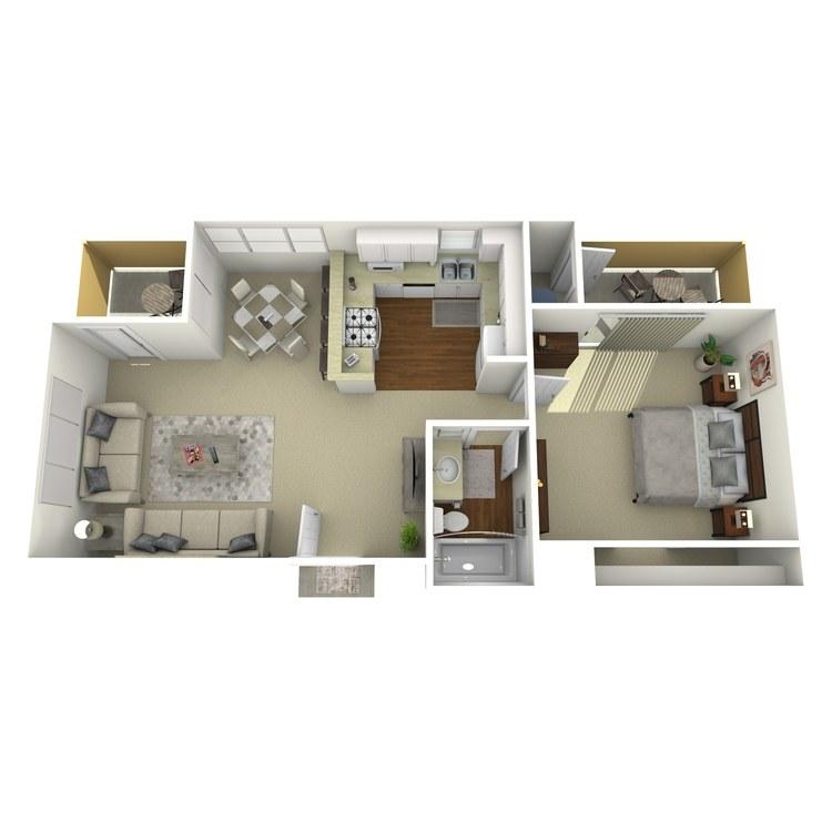 Floor plan image of Santa Cruz