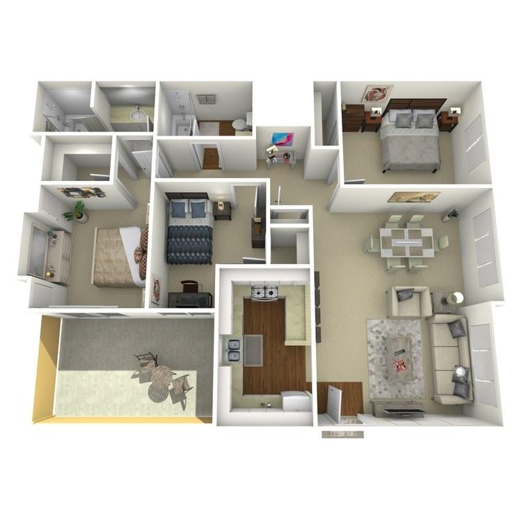 Floor plan image of Westport