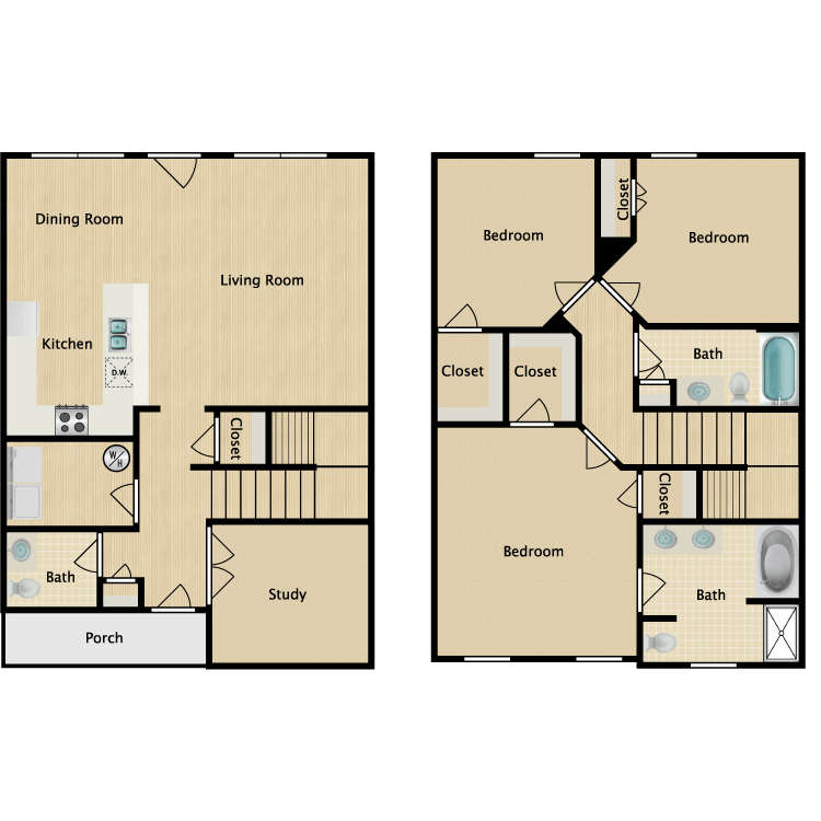 Floor plan image of William