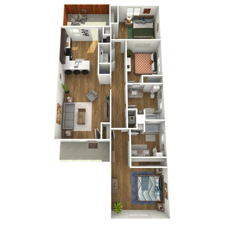 Rio Grande floor plan image