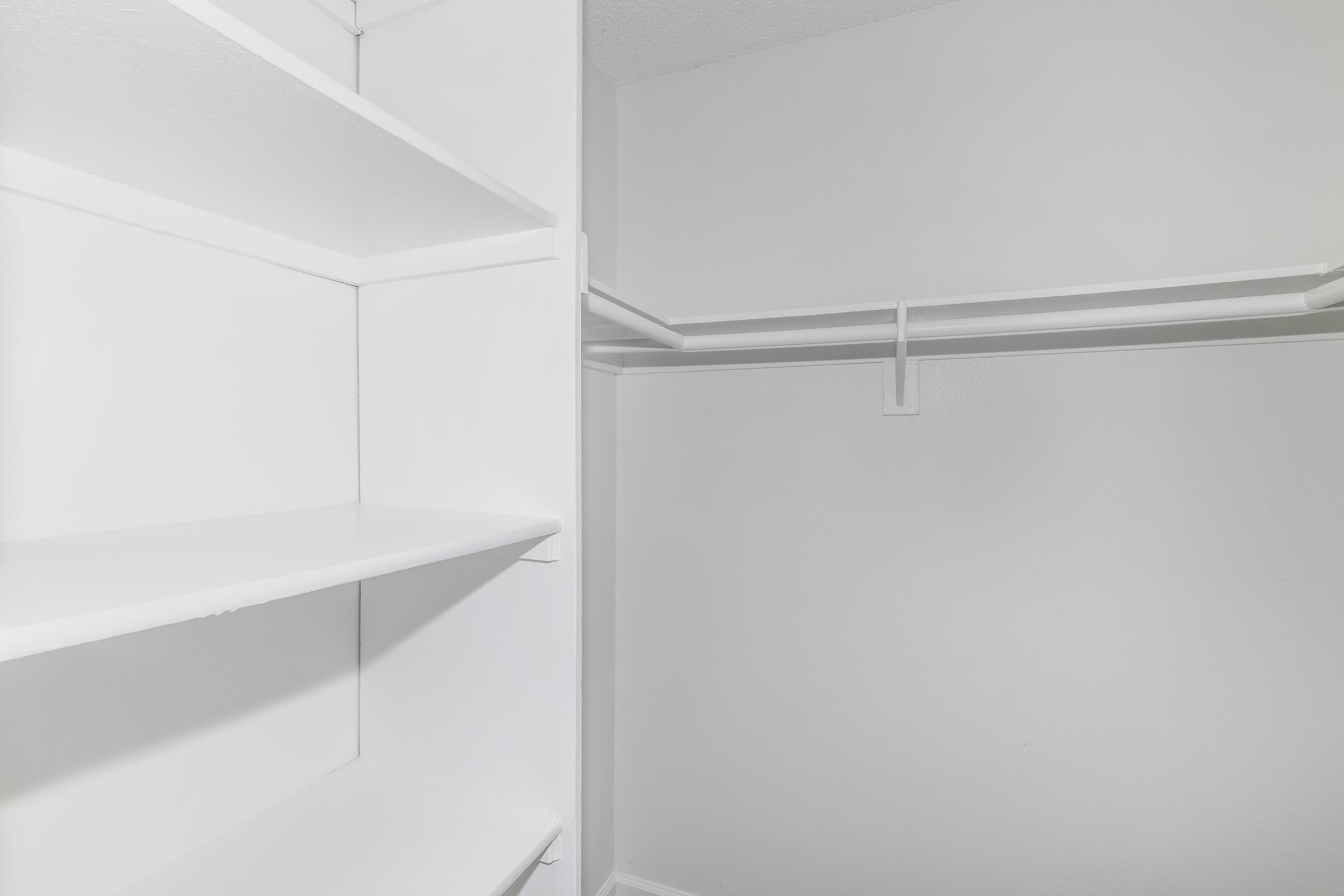 Closet at Copper Wood  Apartments in Chino, CA