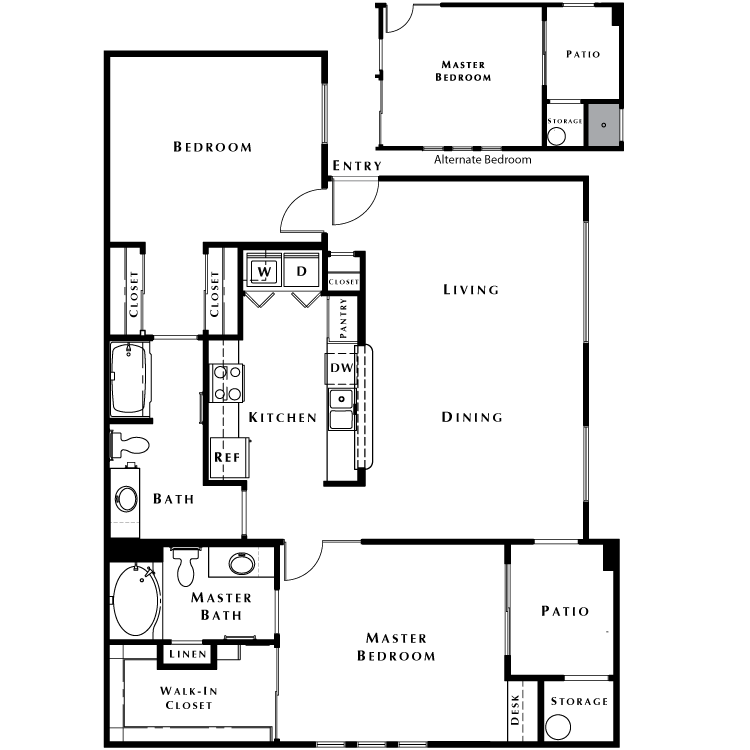 Floor plan image of The Haven