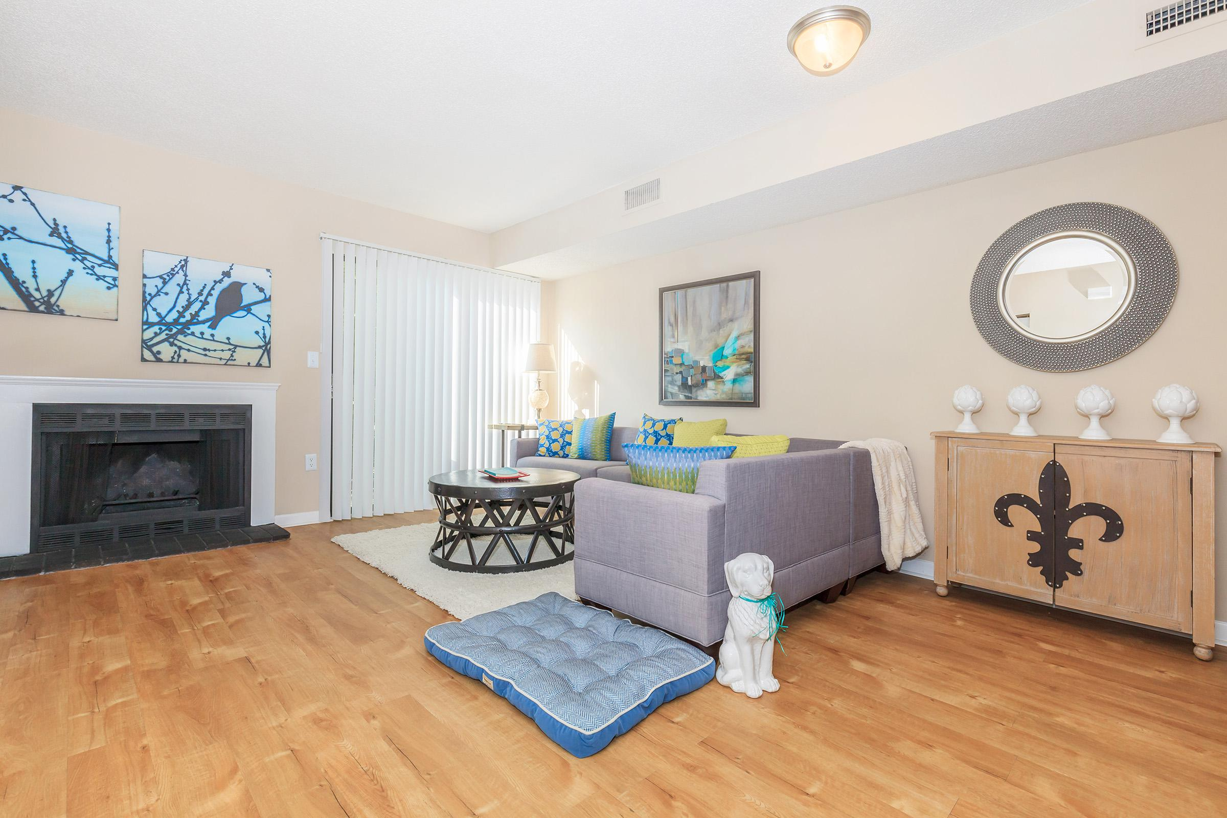 Your new livingroom at Waterford Village