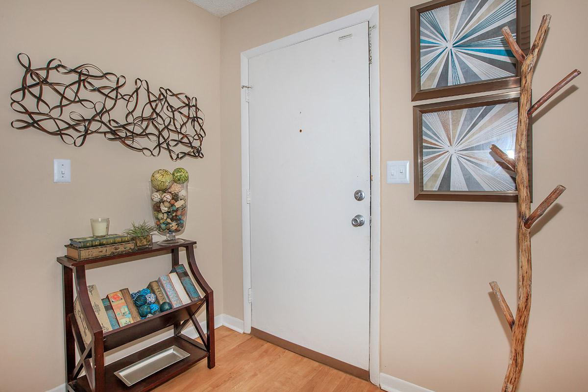 Apartment entrance at Waterford Village