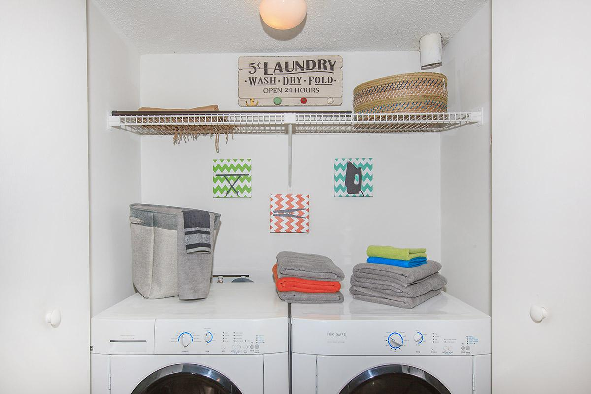 Washer and dryer connections