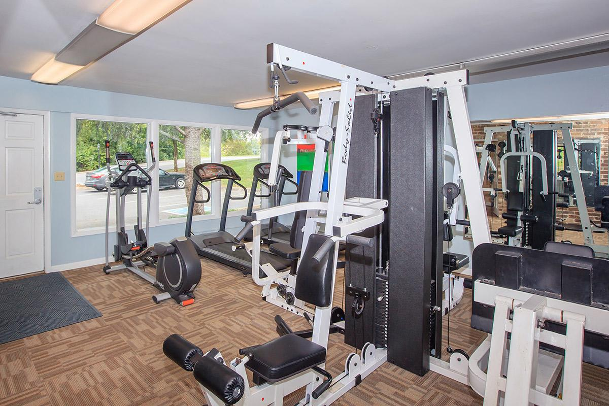 Apartment Community Fitness Center in Knoxville