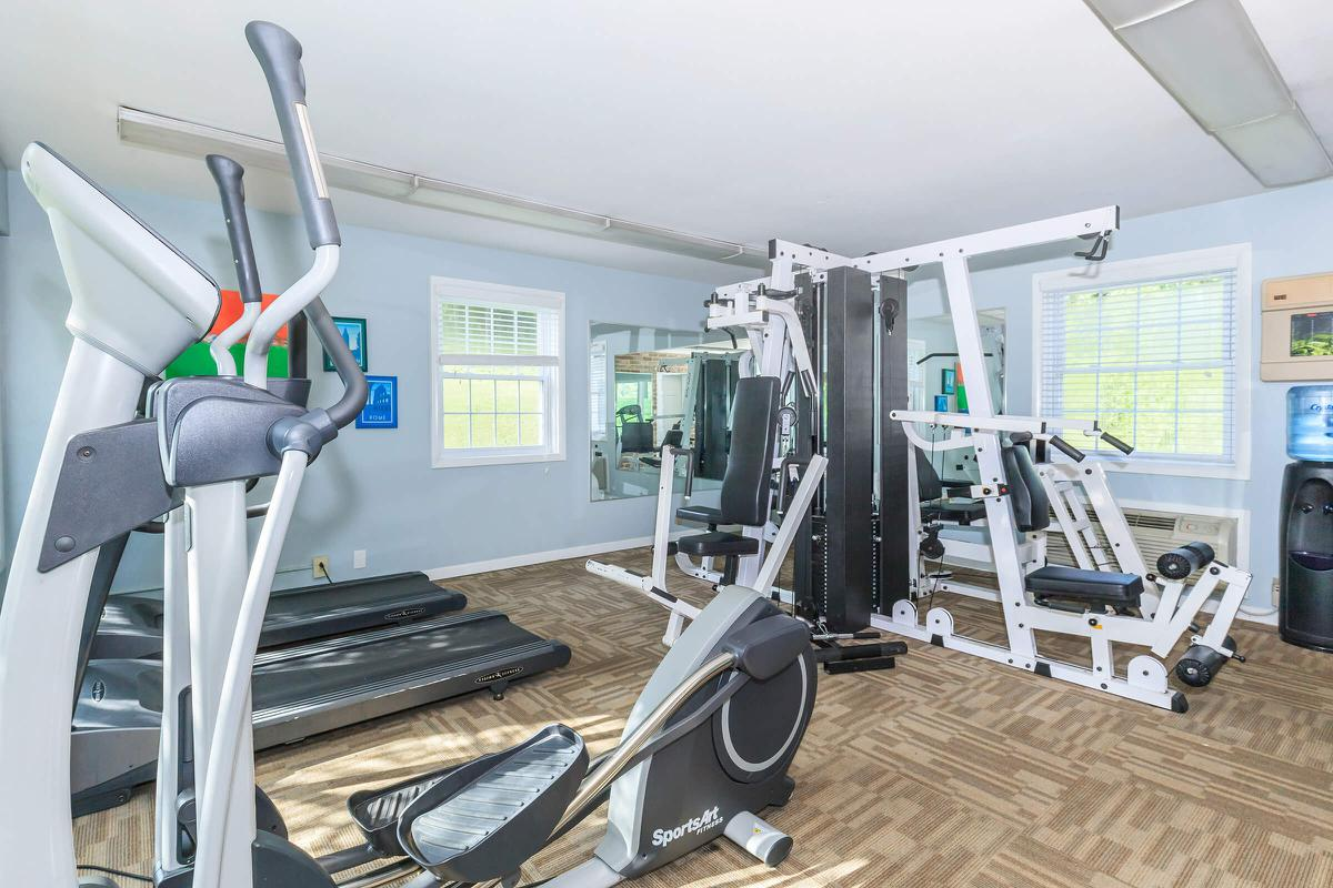 Fitness Room at Waterford Village in Knoxville, Tennessee