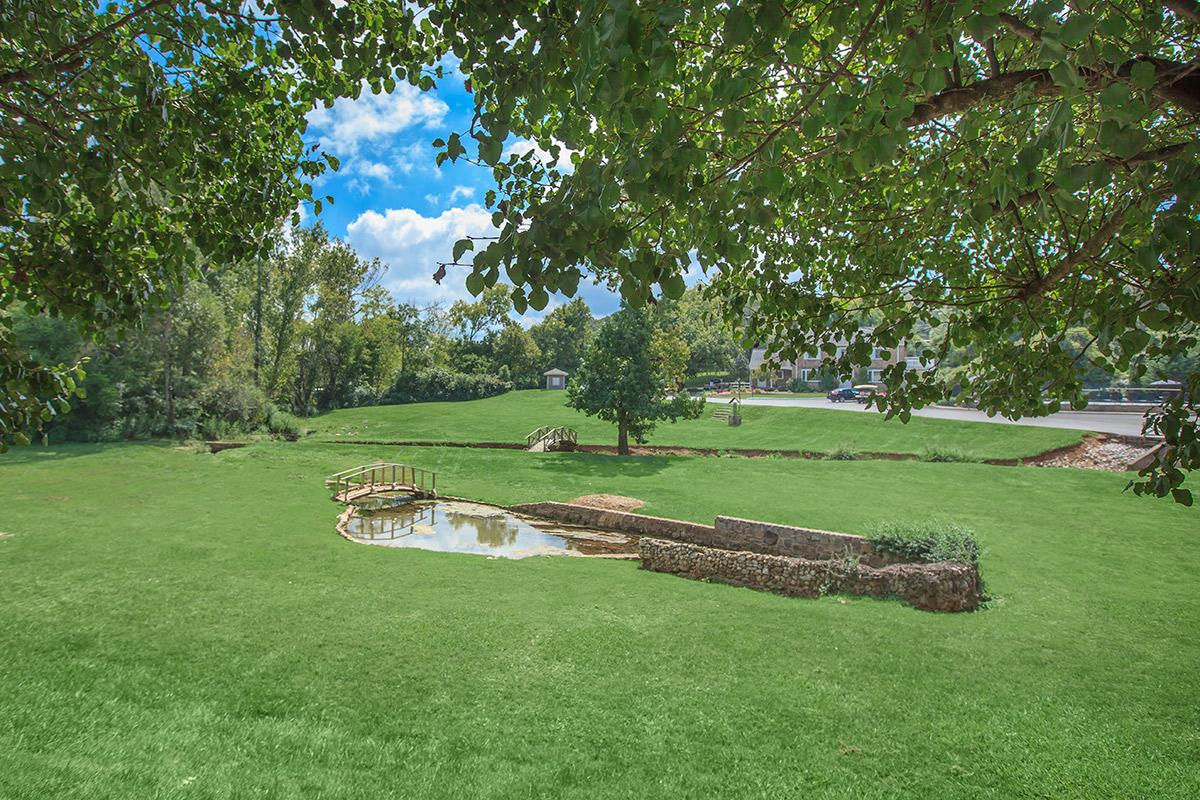 Natural springs and park at Waterford Village