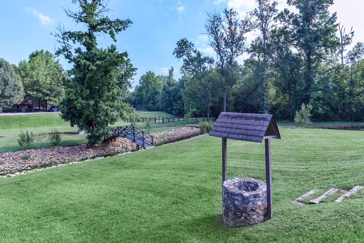 NATURAL SPRINGS AND PARK AT WATERFORD VILLAGE IN KNOXVILLE, TENNESSEE