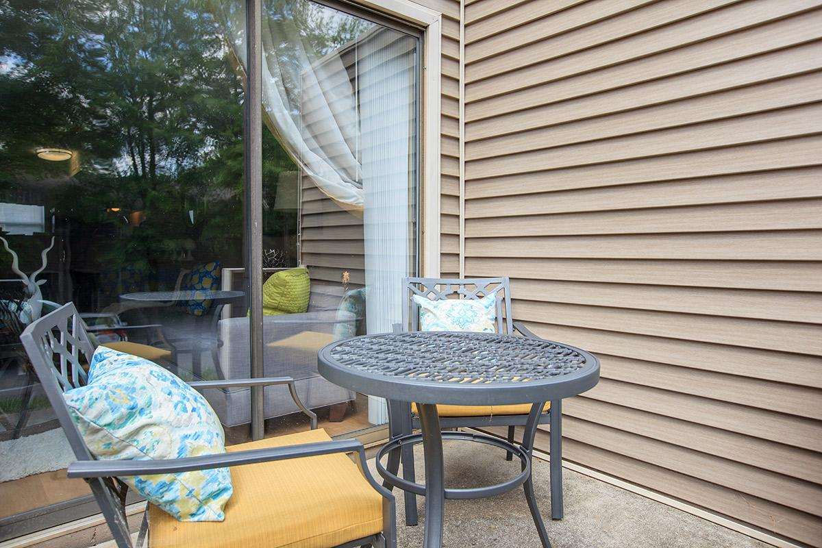 Relax on the Patio at Waterford Village Apartments in Knoxville TN