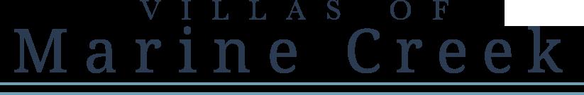Villas of Marine Creek Logo