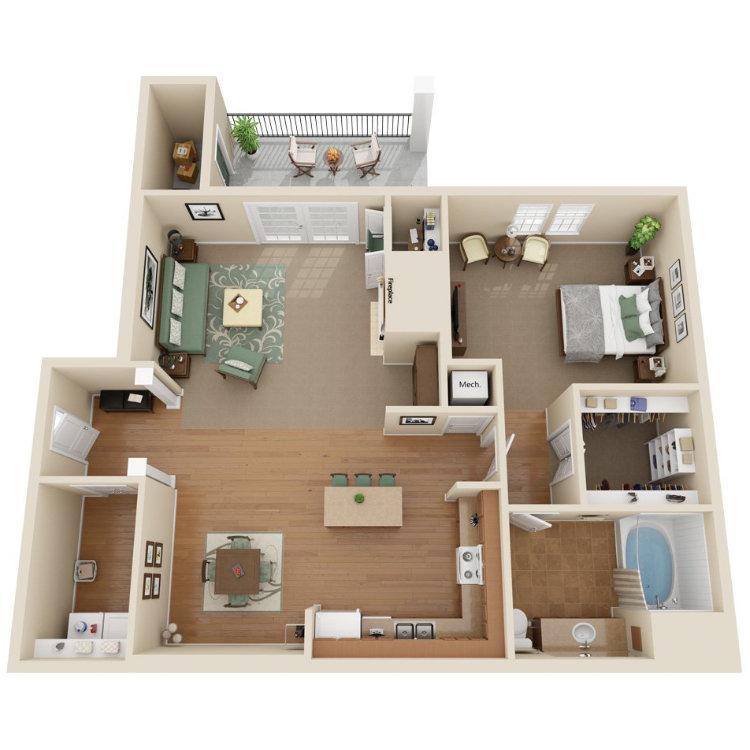 Floor plan image of Miramar