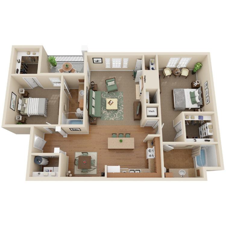Floor plan image of Beauvior