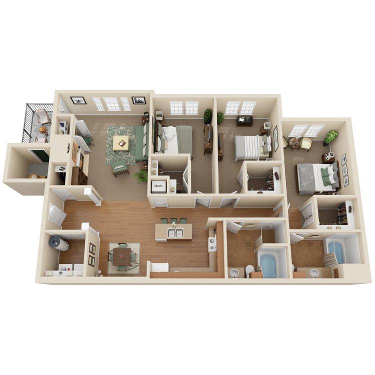 Floor plan image of Broadwater