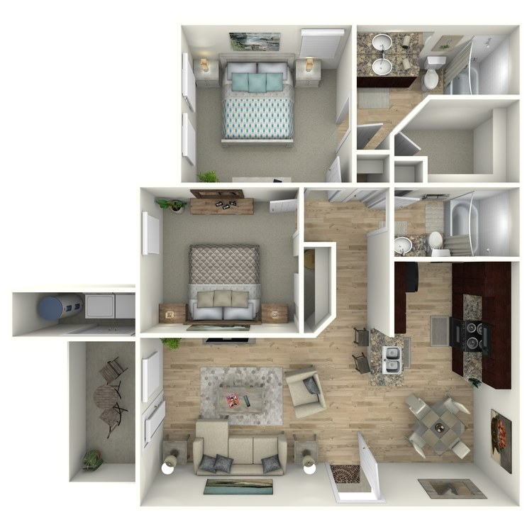Floor plan image of B2E