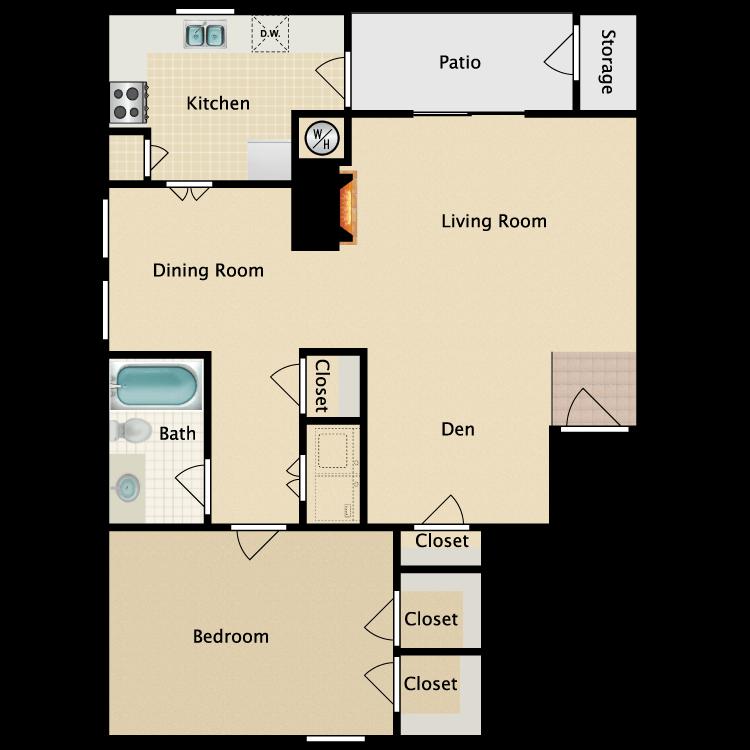 Floor plan image of C