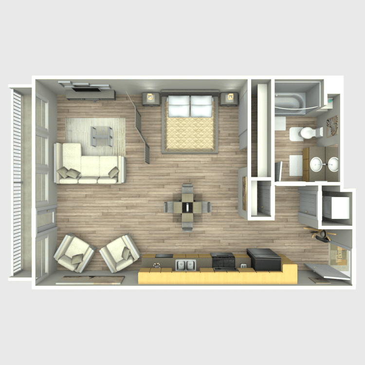 Canvas LA Availability Floor Plans Pricing