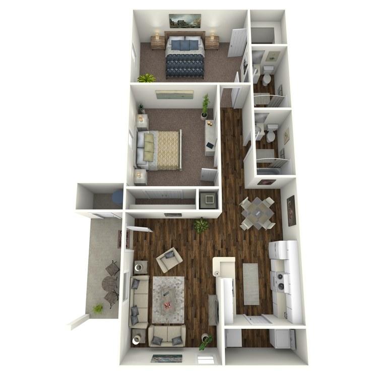 Floor plan image of 22G