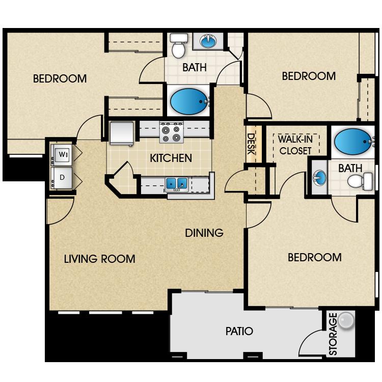Floor plan image of Triana