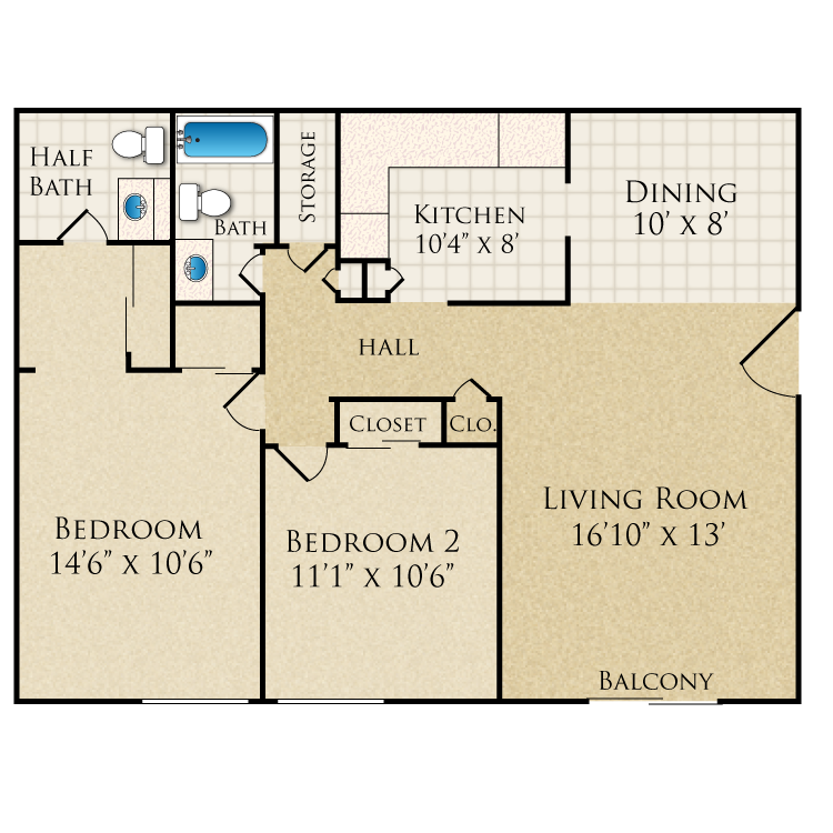 Beau Jardin - Availability, Floor Plans & Pricing