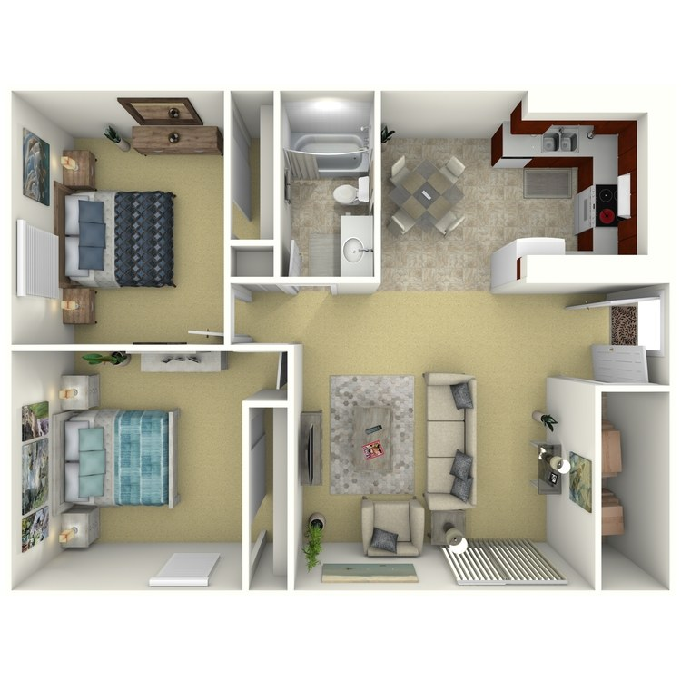 Floor plan image of 2 Bed Grand