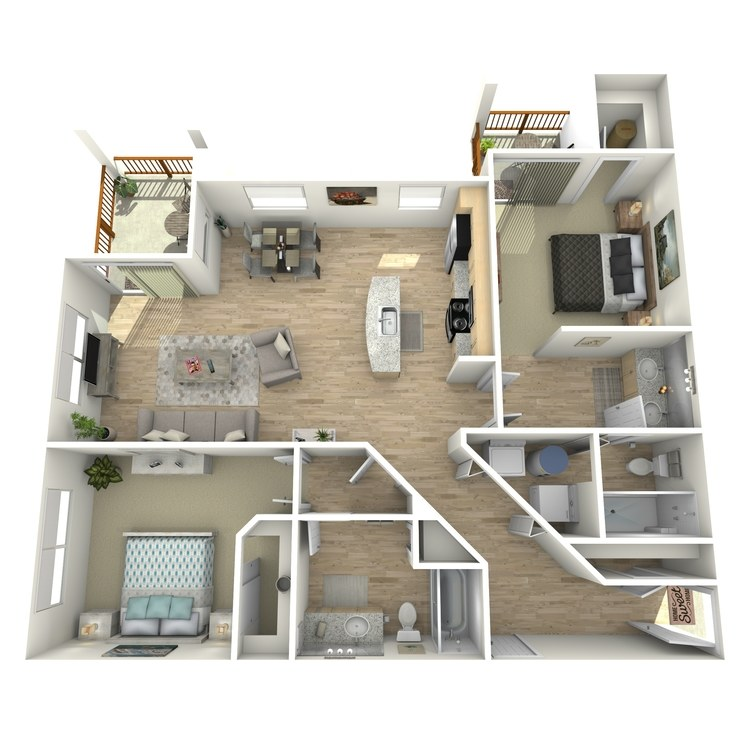 Floor plan image of B2 Grade Level