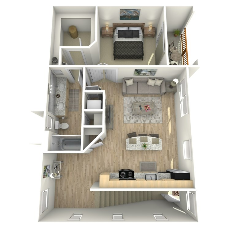 Floor plan image of Carriage Unit