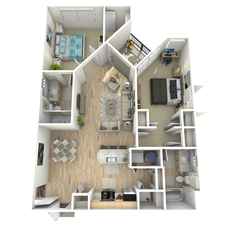 Floor plan image of B1 Grade Level