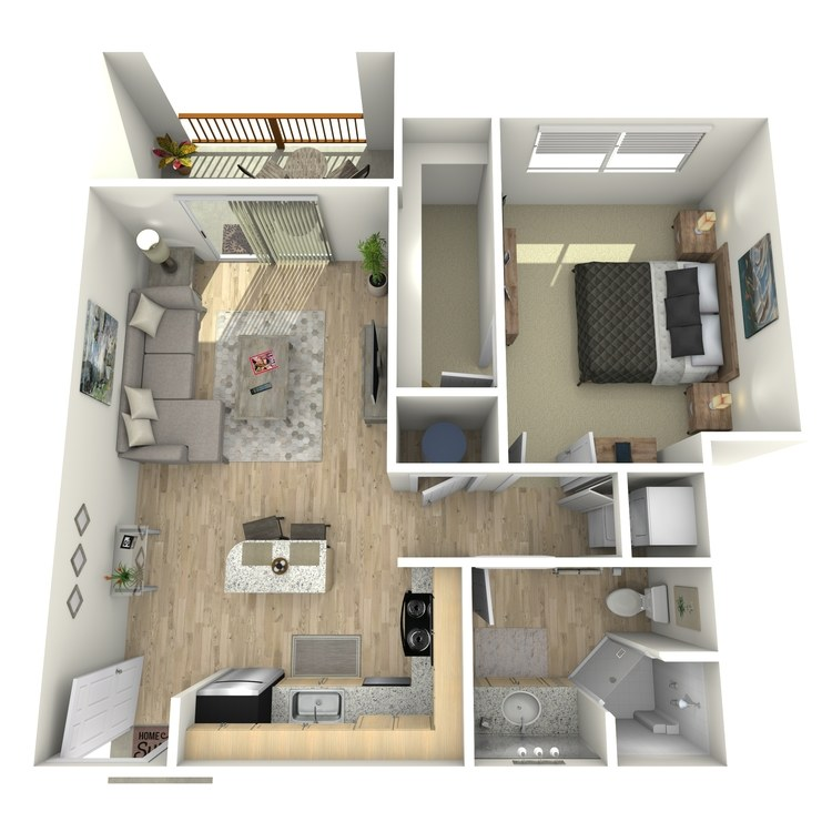 Floor plan image of A2 Second Level
