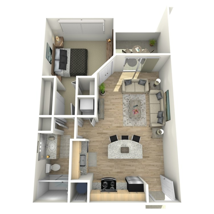 Floor plan image of A1 Garden Level