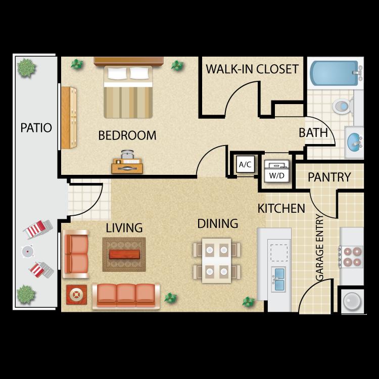 Floor plan image of Arroyo