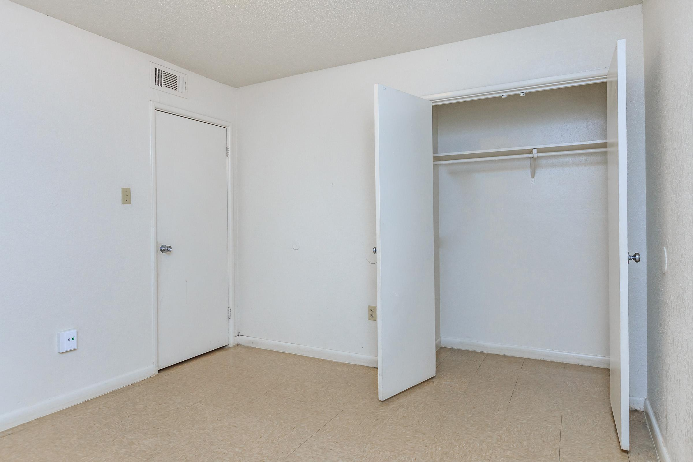 a refrigerator in a room