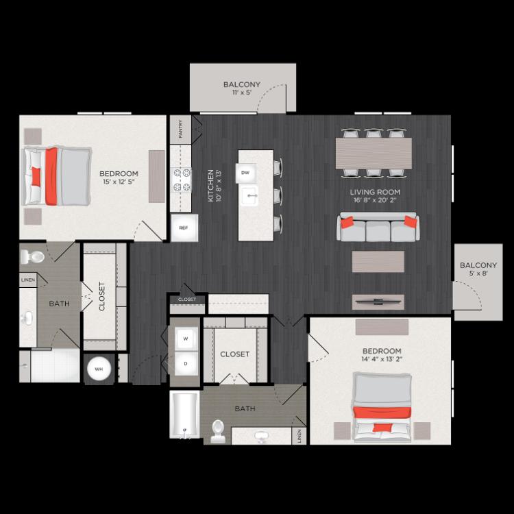 Floor plan image of B10